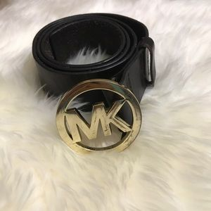 MK leather belt